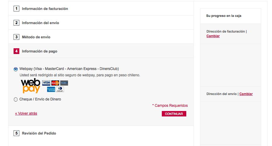 Pago con Webpay E-commerce